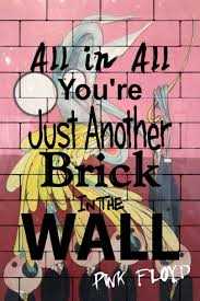 Pink Floyd The Wall Teacher Poster All In Youre Just Another Brick