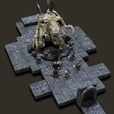 dxcontent com 3d dungeon tiles compatible with pathfinder