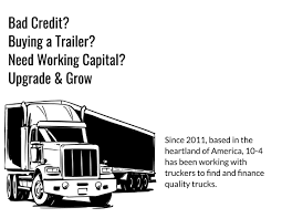 100 Truck Loans Bad Credit Financing For OwnerOperators We Offer Fast Competitive