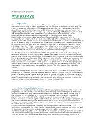 Pearson Exam Copy Bookshelf by Pte Essays With Answers Tourism Mass Media