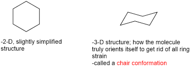 Chair Conformations In Equilibrium by Cycloalkanes And Cyclohexane In Organic Chem Orgo Made Simple