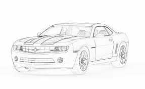 Fancy Camaro Coloring Pages 82 For Your Site With