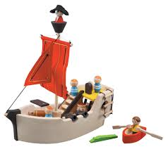 Magna Tiles Amazones by Susankmann Review The Wooden Toy Shop Plan Toys Pirate Ship