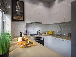 Studio Apartment Kitchen Ideas 3d Illustration Kitchen Decor Interior Design Modern Studio