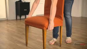 housse de chaise gifi housse pour chaise á dossier