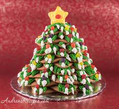 Gingerbread Christmas Tree Recipe