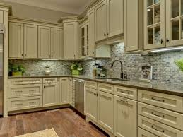 green color kitchen cabinets oak board flooring light brown