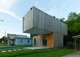 100 Cantilever House Architecture Students Create Prefab In Arkansas