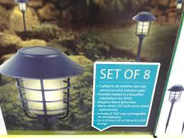 Solar Halloween Pathway Lights by Hgtv Solar Pathway Lights U2013 Discount Ends 09 01 13