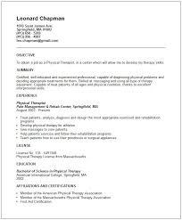 Sample Resume Massage Therapist Job