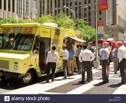 Gourmet Food Truck, NYC Stock Photo: 49749642 - Alamy