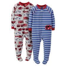 Amazon.com: Carters Boys Footie Pajamas Sleeper Multi Pack (Many ...