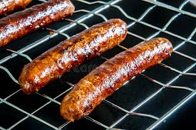 cuisine nord africaine merguez saucisse nord africaine rôtie image stock image du prêt