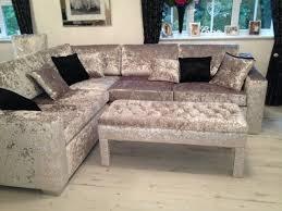 Living Room Ideas Corner Sofa by Great Design Ideas For Grey Velvet Sofa 17 Best Ideas About Velvet