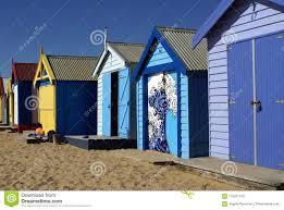 100 Beach Shack Designs Brightly Colored S On Brighton Stock Image