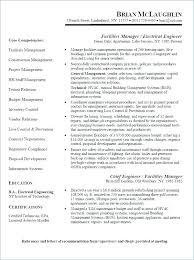 Sample Resume Of Electrician Master Examples Templates
