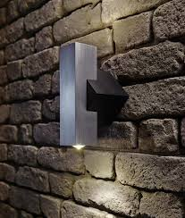 chunky angular and compact exterior wall wash light let there be