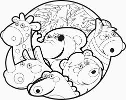 Peaceful Design Coloring Pages Of Zoo Animals Printable Free For