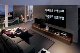 Pleasant Media Room Ideas With Cozy Sofa And Bright Storage On ... Interior Home Theater Room Design With Gold Decorations Best Los Angesvalencia Ca Media Roomdesigninstallation Vintage Small Ideas Living Customized Modern Seating Designs Elite Setting Up An Audio System In A Or Diy 100 Dramatic How To Make The Most Of Your Kun Krvzazivot Page 3 Awesome Basement Media Room Ideas Pictures Best Home Theater Design 2017 Youtube Video Carolina Alarm Security Company