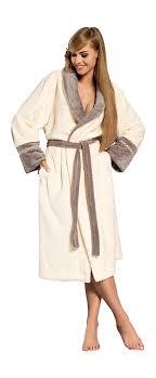 robe de chambre luxe femmes sortie de bain de luxe en coton doux ld outlet robe de