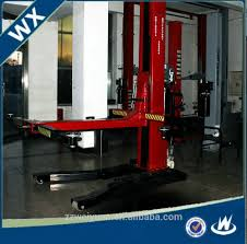 2 Post Car Lift Low Ceiling by Hydraulic Single Post Car Lift Hydraulic Single Post Car Lift