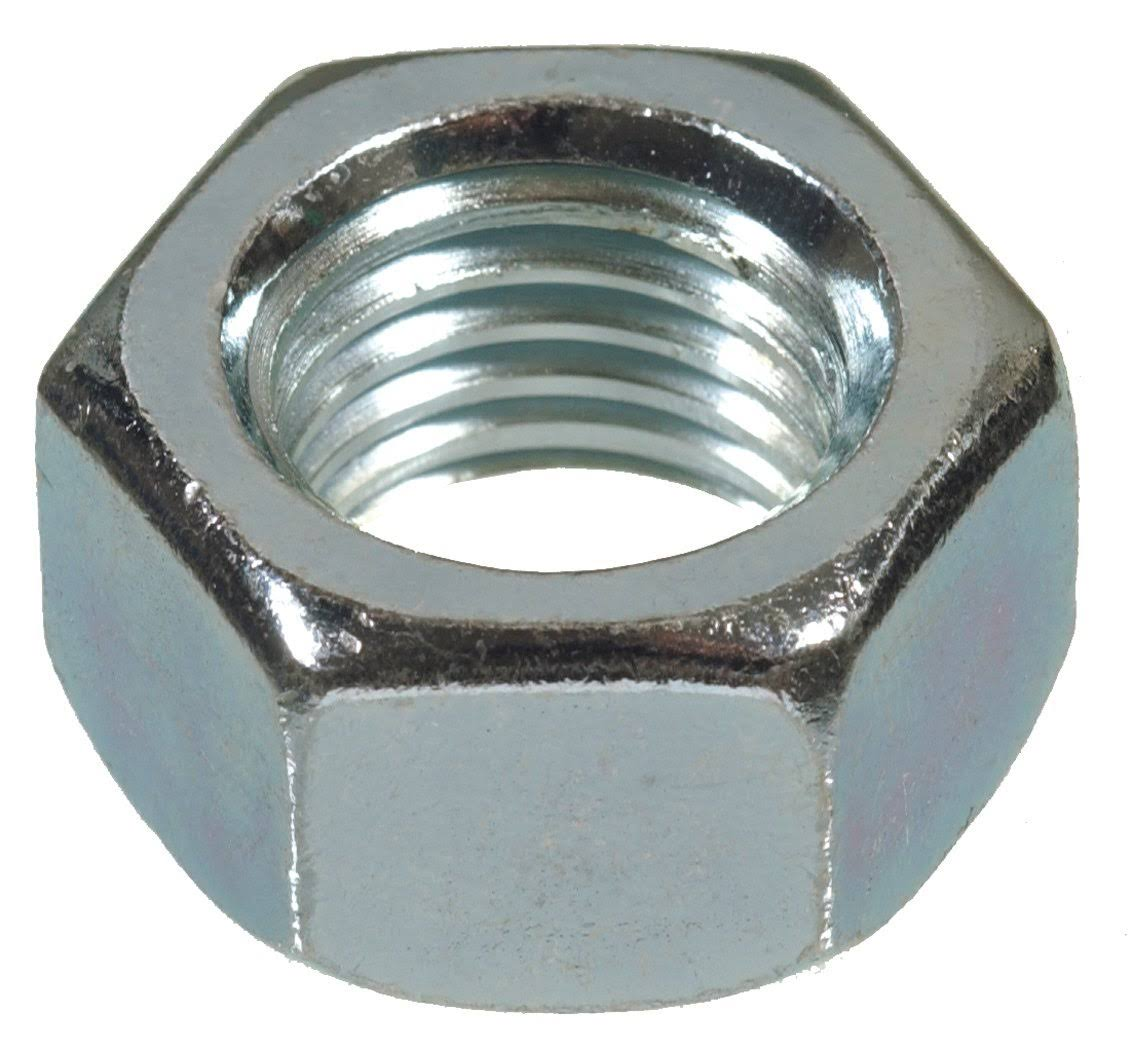 "The Hillman Group Finish Hex Nut - 7/16"" x 20"", 50pk"