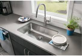 Elkay Granite Sinks Elgu3322 by Faucet Com Eluh2816 In Stainless Steel By Elkay