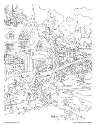 Bridges Coloring Pages From Adult Books
