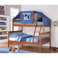 Bunk Bed Over Futon by Bunk Beds Twin Over Futon Bunk Bed With Mattress Included Twin