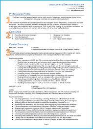 Admin CV Sample 1