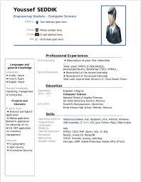 Cv Template Libreoffice Cvtemplate