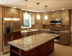 contemporary kitchen remodeling home depot baltic brown granite