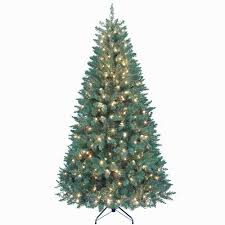 Christmas Tree 7ft Pre Lit by Amazon Com Kurt Adler Pre Lit Point Pine Tree 7 Feet Home U0026 Kitchen
