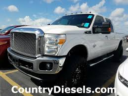 2013 Used Ford Super Duty F-250 SRW Lariat Lifted At Country Diesels ...