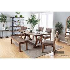 Furniture Of America Gianna 77 Dining Table
