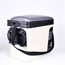Smad 24L 12V Portable Car Mini Fridge Truck Refrigerator 110V Office ...