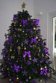 Ribbons Can Also Be Used In Decorating Your Christmas Tree Hang Those Purple Bow Tie Adorn It With Stars And Some Gold Baubles You Have