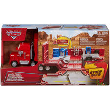 Cars Mack Truck Play Set Walmart Com By Mattel | Ideal Home For Your ...