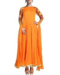 Look Pretty And Glowing In These Beautiful Designer Flared