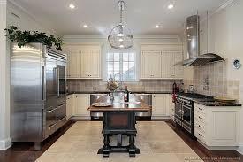 White Kitchen Designs With Dark Flooring