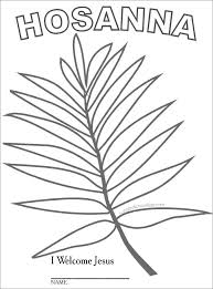 Palm Sunday Crafts Add Photo Gallery Coloring Pages