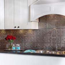 Fasade Decorative Thermoplastic Panels Home Depot by Fasade 24 In X 18 In Fleur De Lis Pvc Decorative Tile Backsplash