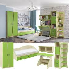 details zu robin modernes jugendzimmer kinderzimmer komplett set für jungen mädchen grün