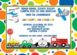 Eacacefddbafcc Simple Transportation Birthday Party Invitations ...