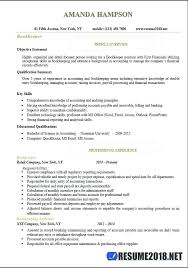 Bookkeeper Job Description For Resume Sample Junior Accountant Awesome Templates
