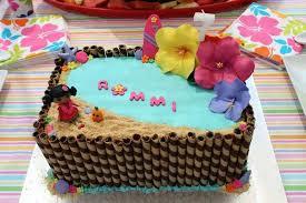 Hawaiian Theme Cake Ideas Cake Ideas