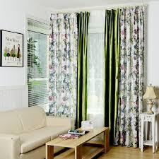 rideau fenetre chambre blackout rideau américain pays style pour salon chambre floral