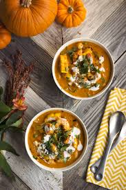 Thai Pumpkin Curry Soup Recipe by Thai Pumpkin Curry With Salmon And Shrimp Tasty Yummies