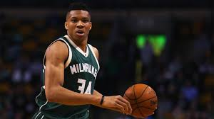 Milwaukee Bucks Giannis Antetokounmpo