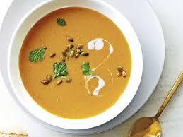 Pumpkin Soup Tureen Recipe by Red Lentil Pumpkin Soup Recipe Myrecipes